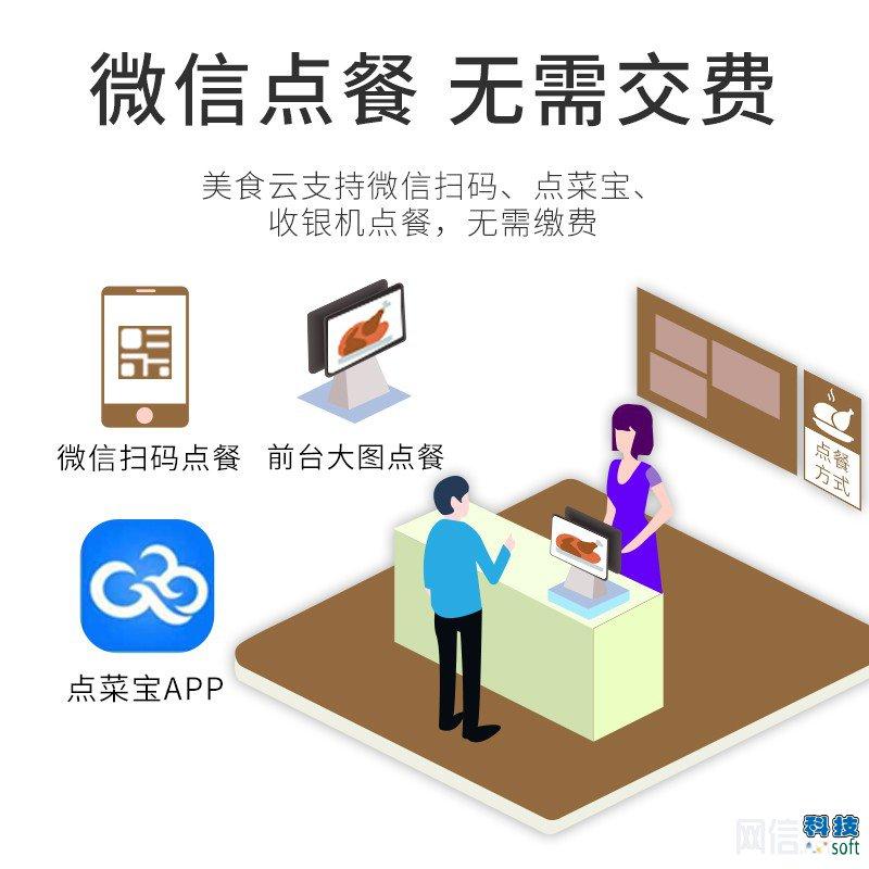 微信扫码点餐云餐饮管理系统